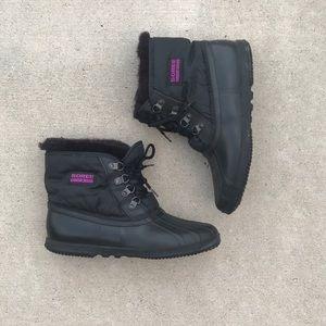 Sorel Kaufman Canada black snow boots sz 8.5
